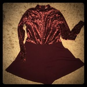 Long sleeved romper Charlotte Russe Large